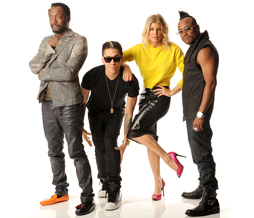 Fergie pink pumps Black Eyed Peas