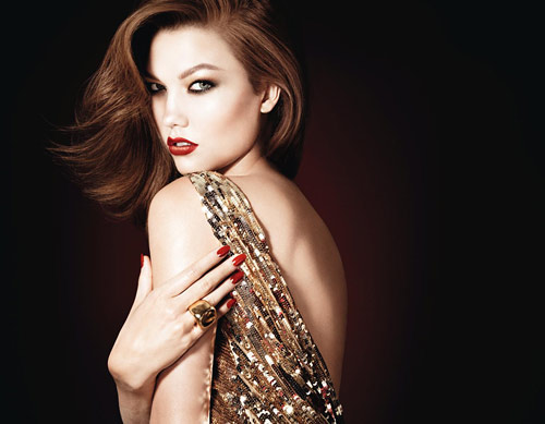 karlie kloss dior les rouges ad campaign