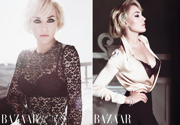 kate winslet haper's bazaar uk