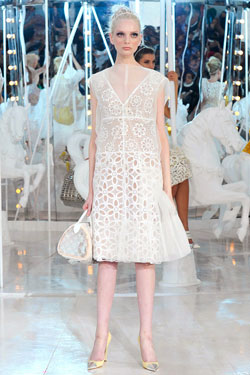 Chrystal Copland Louis Vuitton Spring 2012 runway