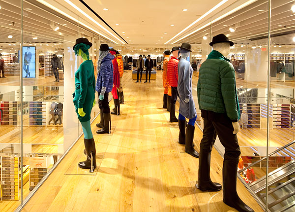Uniqlo new fifth avenue store