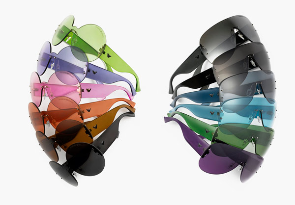 Emporio Armani 30th Anniversary Eyewear colorful