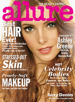 Ashley Greene Allure november cover