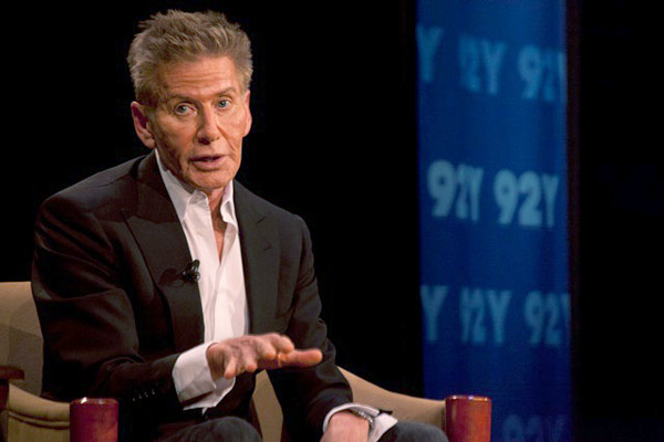 calvin klein speaks at 92nd street Y