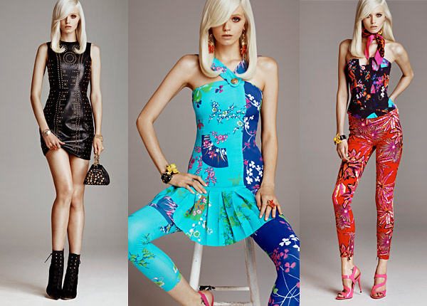 versace h&m collection revealed