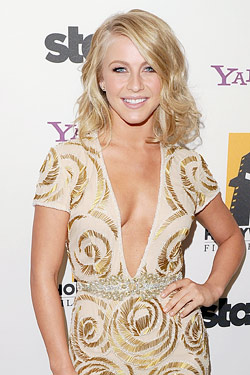 julianne hough cuts her hair