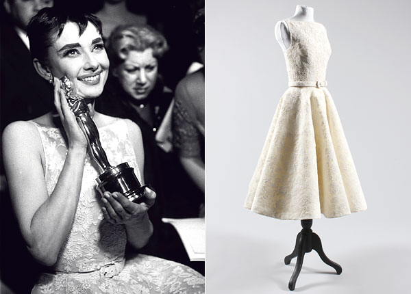 Audrey Hepburn Oscars Dress Up for Auction