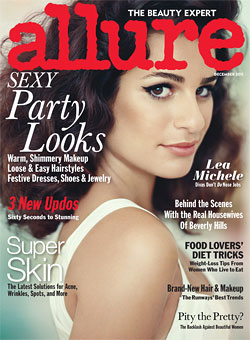 lea michele allure cover