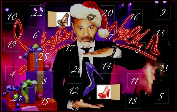 Christian Louboutin Advent calendar