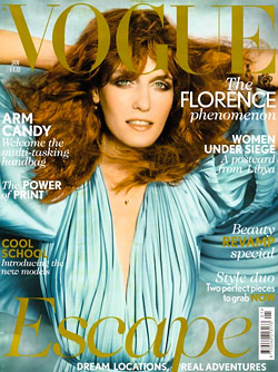 florence welch vogue cover