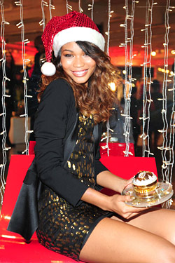 Chanel Iman unveils $1M perfume bottle