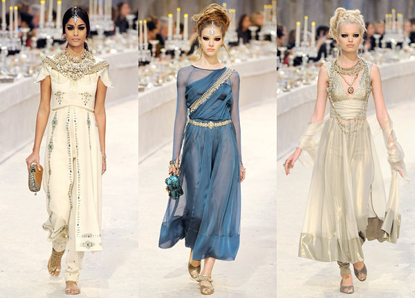 Chanel Indian-Inspired Metier d'Arts 2012 Collection