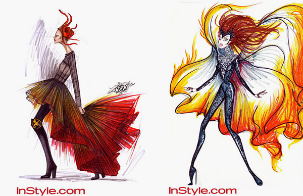 InStyle The Hunger Games
