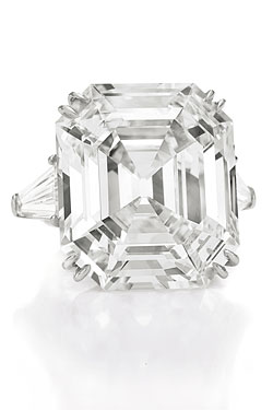 Elizabeth Taylor diamond ring Christie's auction