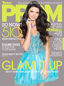 Kendall Jenner TeenPROM 2012 issue