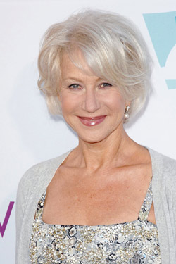 Helen Mirren named style icon for people over 50
