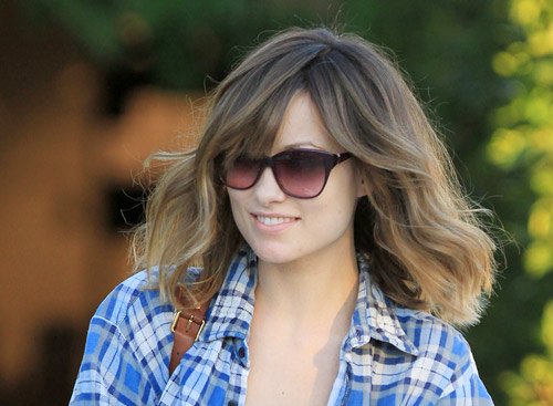 Olivia Wilde Short Blonde New Hairstyle