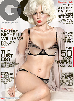 Michelle Williams Marilyn Monroe GQ February cover