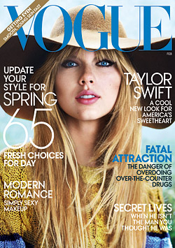 Taylor Swift covers Vogue February
