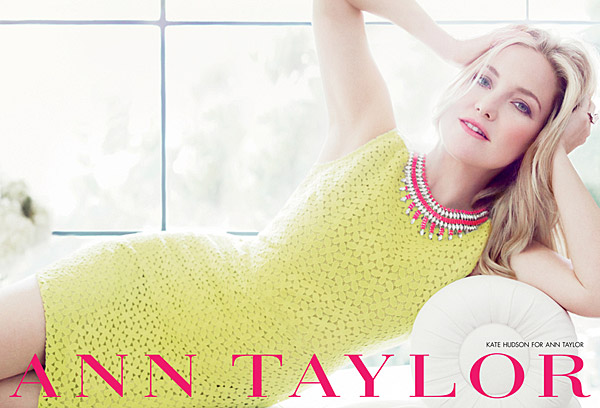 Kate Hudson Ann Taylor Spring 2012 ad campaign