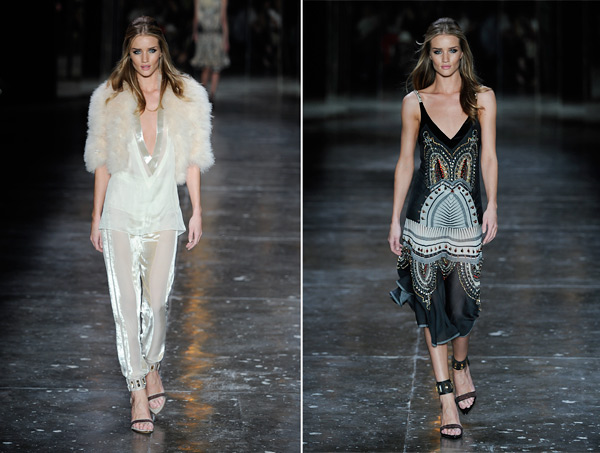 Rosie Huntington-Whitely Sao Paolo fashion show