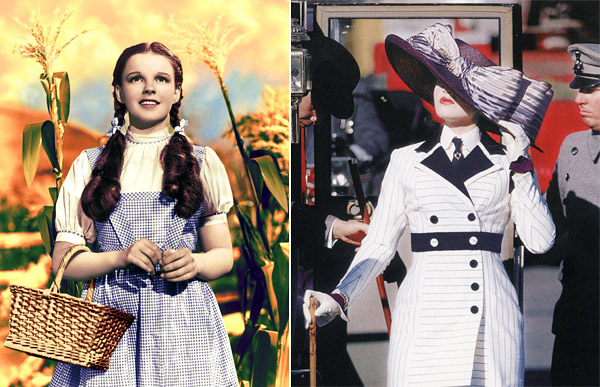 Dorothy  The Wizard of Oz Kate Winslet Titanic