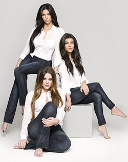 Kardashian Kollection Denim Ad Campaign
