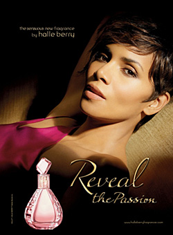 Halle Berry Reveal the Passion fragrance campaign