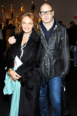Diane von Furstenberg and Reed Krakoff