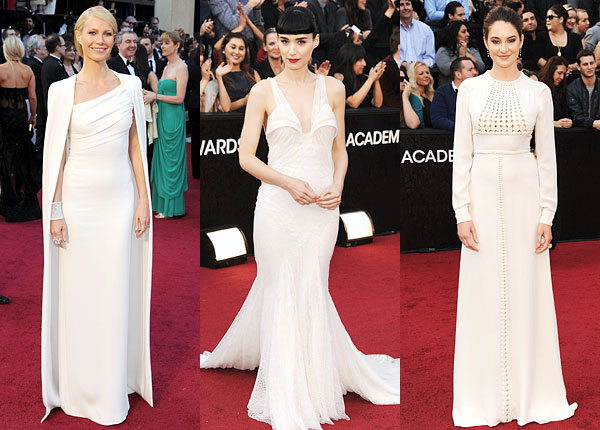 Rooney Mara, Gwyneth Paltrow Shailene Woodley Oscars red carpet