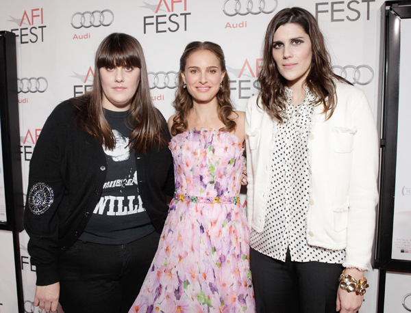 Kate and Laura Mulleavy with Natalie Portman