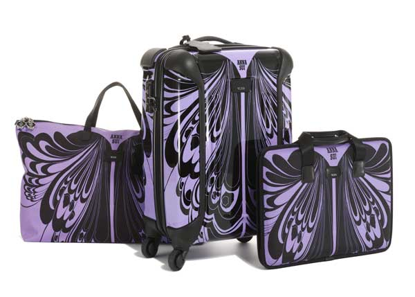Anna Sui and Tumi Luggage