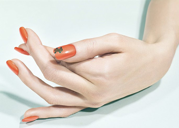 Sally Singer Nail Art Nowness