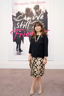 Alexandra Shulman  Debut Novel