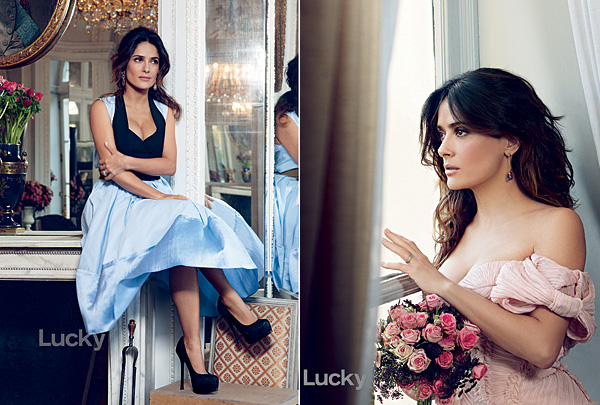 Salma Hayek May  Lucky