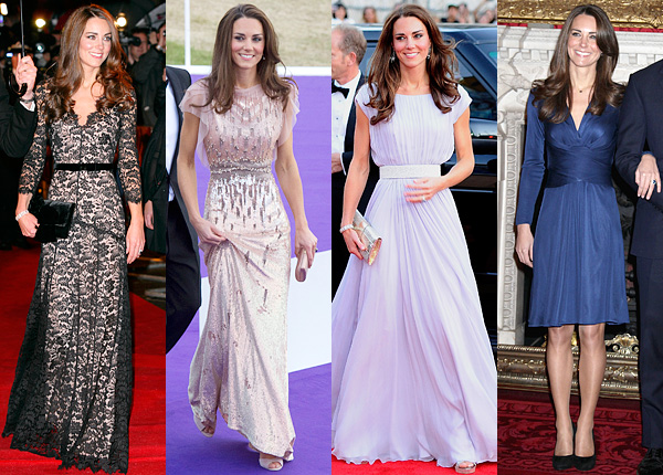 Madame Tussauds  Kate Middleton Top Four Fashion Moments