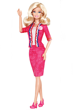 Chris Benz Designs Presidential Ensemble for Barbie