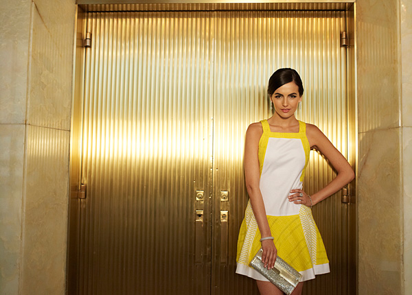 Camilla Belle  Cotton Inc. Campaign