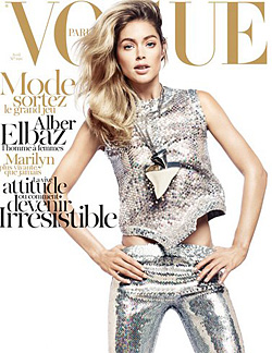 Doutzen Kroes April cover Vogue Paris