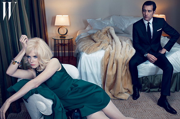 Nicole Kidman Clive Owen W magazine May 2012