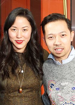 Opening Ceremony co-founders Humberto Leon and Carol Lim