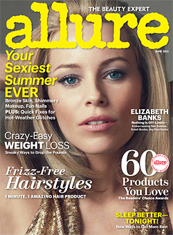 Elizabeth Banks Allure Cover Shoot
