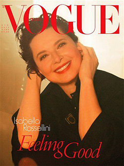 Isabella Rossellini Vogue Italia june 2012 cover
