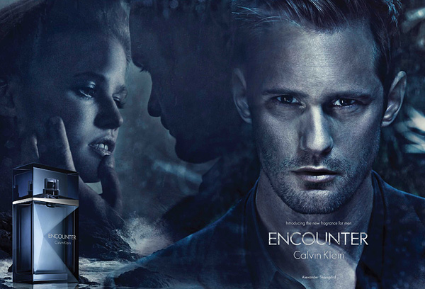 Alexander Skarsgård men's fragrance Encounter Calvin Klein
