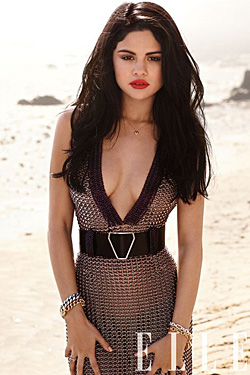 Selena Gomez Elle July