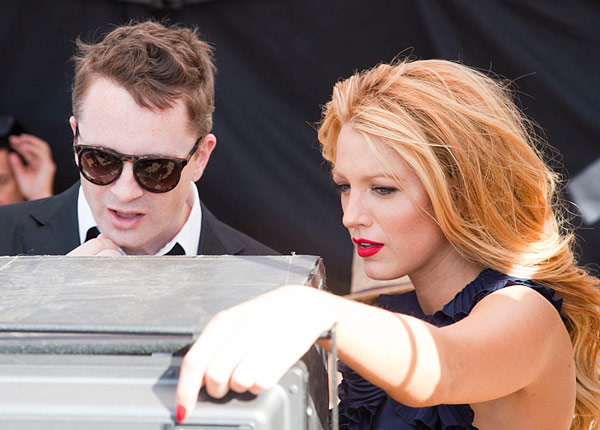 Gucci Premiere Blake Lively Nicolas Winding Refn