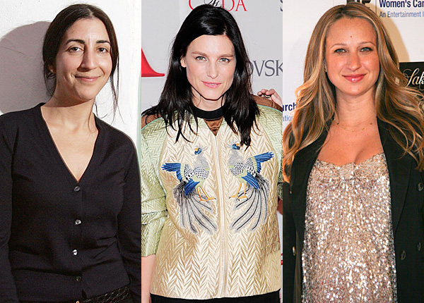 Andrea Lieberman, Tabitha Simmons, Jennifer Meyer