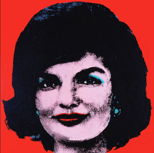 Jackie Kennedy Onassis Andy Warhol Birthday