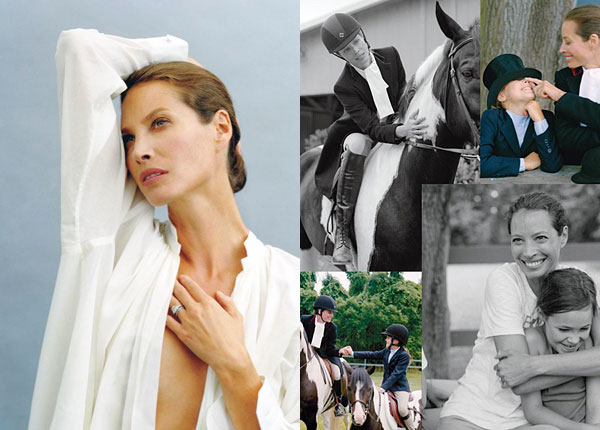 Christy Turlington Burns DuJour