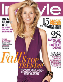 gwyneth paltrow instyle magazine october 2012